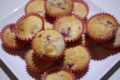 Mini Raspberry and White Chocolate Muffins