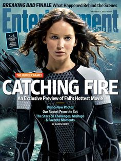 This Week's Cover: Inside 'The Hunger Games: Catching Fire'   EW.com