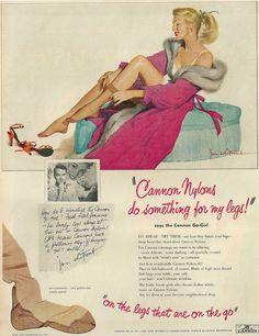 Colección de anuncios de moda vintage vía www.tangramdesign.es