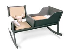 this is adorable! rocking chair for baby AND mommy ;) How interesting!