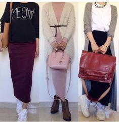 Pinterest°@celya-Akr Hijab Fashion Summer, Modest Fashion Hijab, Casual Hijab Outfit, Hijab Dress, Muslim Fashion, Modest Outfits, Fashion Outfits, Hijab Style, Hijab Chic