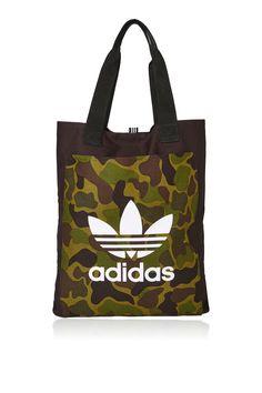 d13fb09aab Black Canvas Shopper Bag by Adidas