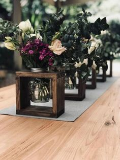 Rustic wooden vase attachments Decor on the wedding island Party decorations . - Rustic wooden vase tops decor on the wedding island party decorations or wood design - Wedding Isle Decorations, Rustic Wedding Centerpieces, Vase Centerpieces, Rustic Vases, Rustic Weddings, Indian Weddings, Wedding Rustic, Romantic Weddings, Trendy Wedding