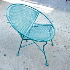 Maurizio Tempestini clamshell or hoop chair for Salterini
