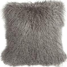 Gray Mongolian Lamb Fur Pillow Cover Tibetan Fur cushion cover Decorative Pillows Almofada Cushion Covers Christmas Pillow New Gold Throw Pillows, Grey Pillows, Wool Pillows, Cushions On Sofa, Decorative Throw Pillows, In China, Tibet, Mongolian Fur Pillow, Sheepskin Throw
