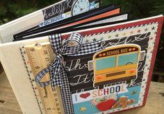 Fall Scrapbook Kit Mini Album Kit Precut with by ArtsyAlbums