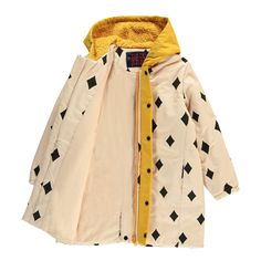 Bobo Choses Waterproof Diamonds Hooded Parka-product