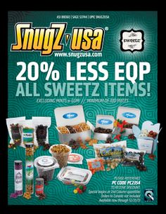 Save Big on SweetZ from SnugZ USA!