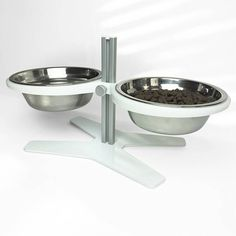 Ergonomic Modern Pet Feeder for Dogs and Cats Pet Dogs, Dog Cat, Pets, Dog Bowl Stand, Laser Cut Metal, Welding Ideas, Pet Feeder, Raw Materials, Dog Stuff