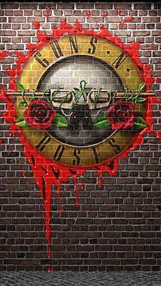 Guns And Roses, Black Phone Wallpaper, Rose Wallpaper, Pop Rock, Rock N Roll, Rock Band Posters, Vintage Music Posters, Best Rock Bands, Band Wallpapers