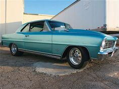 My dream vintage car-a Chevy Nova... My lists keep getting longer... But I need at least one car made out of real steel!
