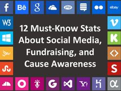 Non-Profit Tech2.0: Must Know Stats about Social Media, Fundraising and Cause Awareness #Nonprofitorgs