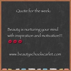 I will use my inspiration and motivation to replenish my inner beauty and share my experience with others. What about you? How will you nurture your mind with inspiration and motivation? Have a wonderful week! MUAH