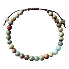 Adjustable Jasper Bracelet with Red, Blue, Natural Stones -- See this great product. (This is an affiliate link and I receive a commission for the sales)