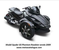 2009 BRP/ Can-Am Spyder GS Phantom Roadster