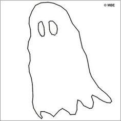 Happy Halloween! 9 Free Printable Stencils: Free Halloween Stencil: Ghost
