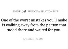 .Rule 159 of a relationship.