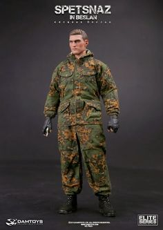 onesixthscalepictures: DAM Toys SPETSNAZ in BESLAN : Latest product news for 1/6 scale figure.