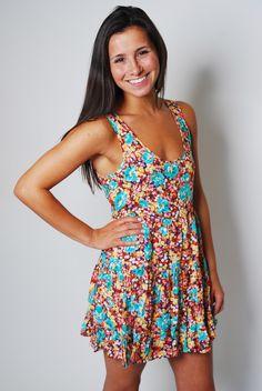 Tahitian Sunrise Dress