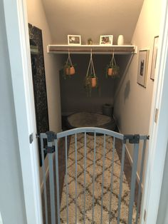 Dog Room Under The Stairs Nooks ` Dog Room Under The Stairs – dog kennel indoor Under Stairs Dog House, Closet Under Stairs, Under The Stairs, Bed Stairs, Dog Bedroom, Room Ideas Bedroom, Closet Bedroom, Dog Room Decor, Home Decor