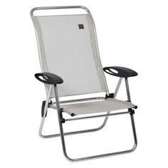 Outdoor Lafuma Batyline Low Elips Aluminum Folding Beach Chair - Set of 4 Seigle - LFM2337-2178
