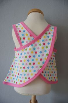 another pinafore, dots