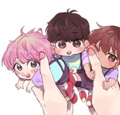 Image uploaded by EXO Let's Love! Find images and videos about kpop, exo and baekhyun on We Heart It - the app to get lost in what you love. K Pop, Asian Fever, Exo Fan Art, Kpop Drawings, Exo Xiumin, Kpop Fanart, K Idols, Boy Bands, Chibi