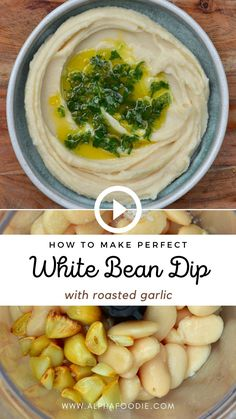 Fingers Food, White Bean Hummus, Appetizer Recipes, Appetizers, Whole Food Recipes, Cooking Recipes, Healthy Snacks, Healthy Eating, Vegetarian Recipes