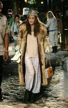 Yaşasın İlham Veren Kadınlar! ~ RENK İKİNDİLERİ Sex and The City Carrie Bradshaw Fur