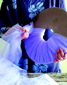 DIY tutu Tutorial: Tulle Balls. I know I've already pinned something similar to this but I really like the step by step pics it gives