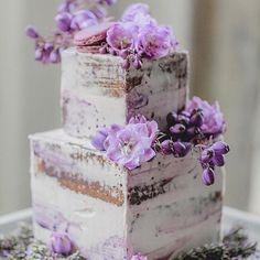 #purpleweddingcakes