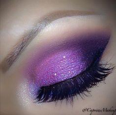 purple eyeshadow makeup