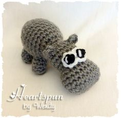 Ravelry: Hippo EOS Lip Balm Holder or Stuffed Animal pattern by Wendy Connor