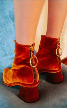 The designer: Founded in 2010 by Seoul-based Rei Yoon Hong mi, Moda is the first US retailer to launch the buzzed-about shoe label.       This season it's about: Great boots with the brand's signature metal ring detailing.