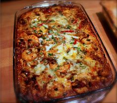 Comfort & Joy Food — Shrimp and Grits Casserole So yummy!