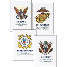 @Overstock - Show your military pride with a counted cross stitch kit Needlework set allows you to honor the service of a loved one Kit includes cotton thread; 18-count white Aida, thread palette, dual-opening mat, needle and easy instructionshttp://www.overstock.com/Crafts-Sewing/Military-Pride-Counted-Cross-Stitch-Kit/3343937/product.html?CID=214117 $12.09