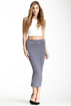 Printed Maxi Skirt VERONICA M