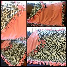 Zebra Reversible Double Fleece Fringe Blanket.  www.stylemcollection.com  Message me if you are interested.   stylemcollection@gmail.com  Shipping within the United States Only.