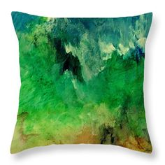 Forest Mountains Throw Pillow for Sale by Faye Anastasopoulou