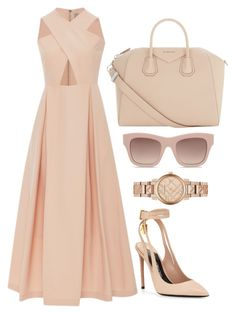 Nude by carolineas on Polyvore featuring polyvore, fashion, style, Preen, Tom Ford, Givenchy, Burberry, STELLA McCARTNEY and clothing
