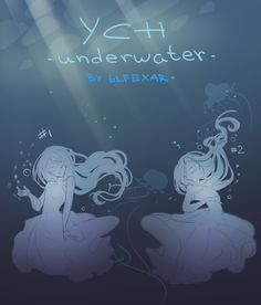 [close] YCH Auction: poses 5-6 (underwater) by elfexar