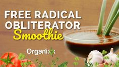 Recipe Video: Using tomato, turmeric, and celery, this smoothie tastes great while blasting free radicals which are potentially harmful to cells. Click through to watch this recipe video from Organixx and get blending. Don't forget to share this video with a friend who loves smoothie recipes! Enjoy!