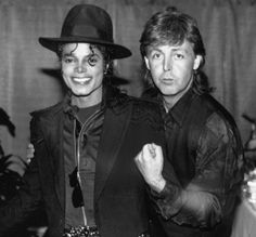 Paul McCartney and Michael Jackson - 1880 ( Say,say,say)