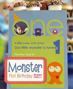 My Own Road: Monster birthday party inspiration