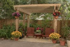 Roof Over Deck Plans | Ron Hazelton has a free pergola plan for a free standing structure ...