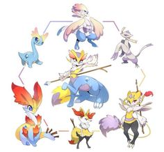 Pokemon mash ups