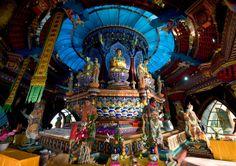 Yao Shi Ta - inside the temple madicine -Da Rushan, Yintan, Weihai.  www.kungfushaolins.com