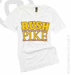 Pi Kappa Alpha Rush Shirt