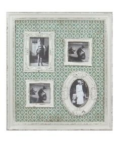 four photo frame with vintage feel
