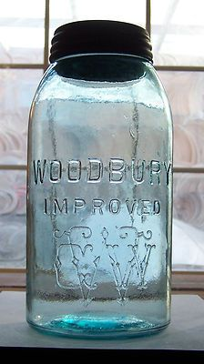 Half Gallon, Antique Canning jar